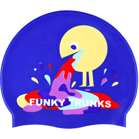 Funky Trunks Silicone badmuts geel/violet